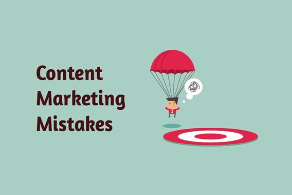 6 نکته مهم در مورد اشتباهات بازاریابی محتوا