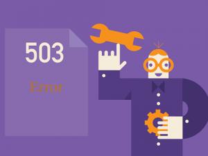 خطا سایت خطا 503