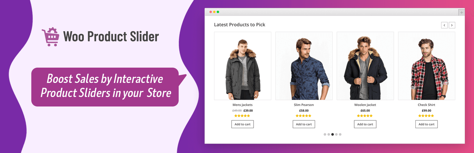 Product Slider for WooCommerce - افزونه رایگان ووکامرس