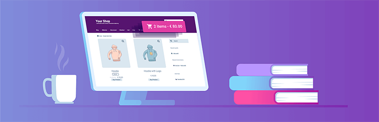 WooCommerce Menu Bar Cart -افزونه رایگان ووکامرس