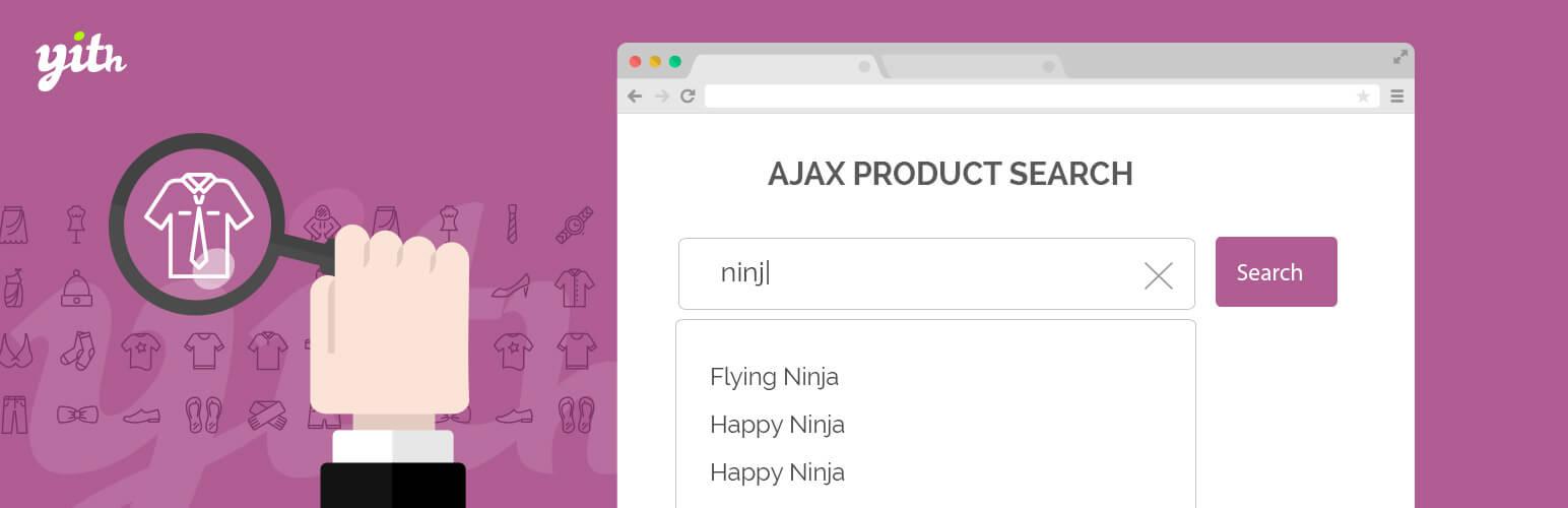 YITH WooCommerce Ajax Search - افزونه رایگان ووکامرس