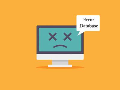 خطا پایگاه داده وردپرس