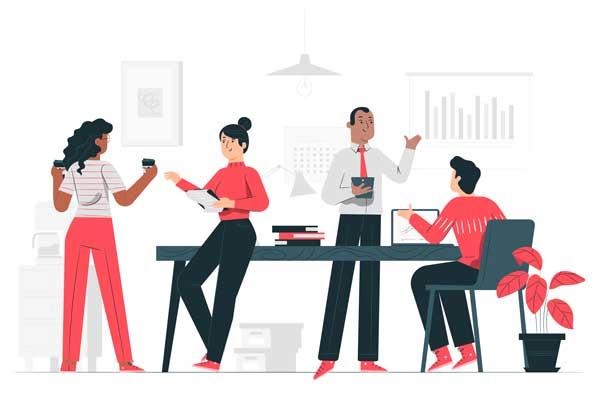 یک محیط کار باید چگونه باشد؟