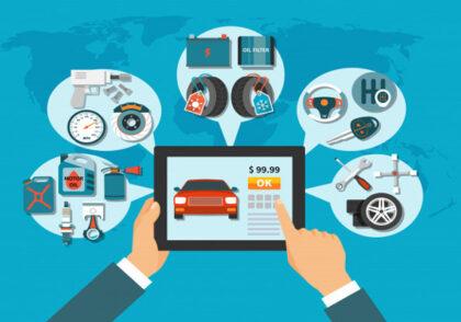 2 راه برای فروش آنلاین قطعات خودرو