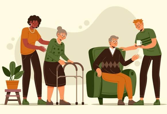 6 مرحله برای راه اندازی سایت خانهی سالمندان