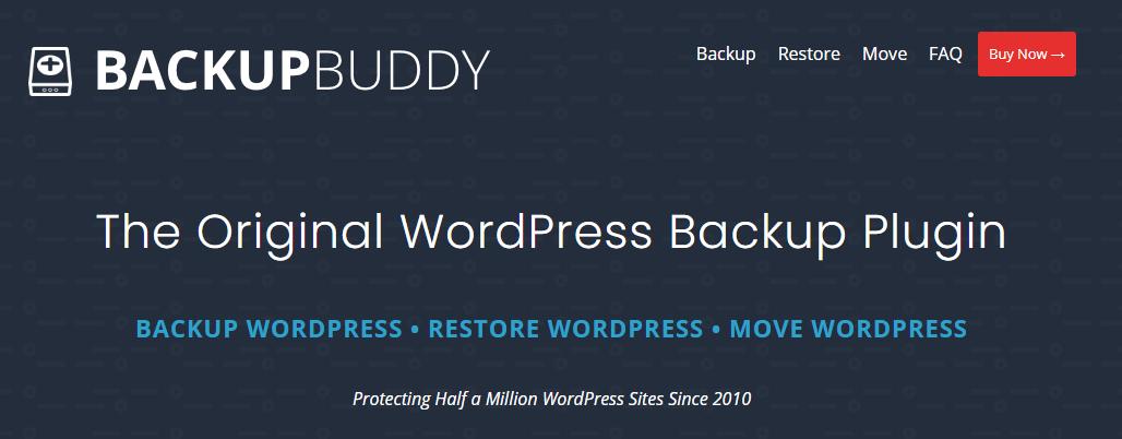 BackupBuddy افزونه بکآپگیری از وردپرس