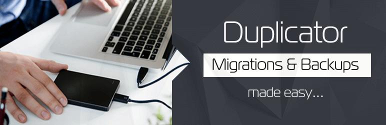 Duplicator افزونه بکآپگیری از وردپرس