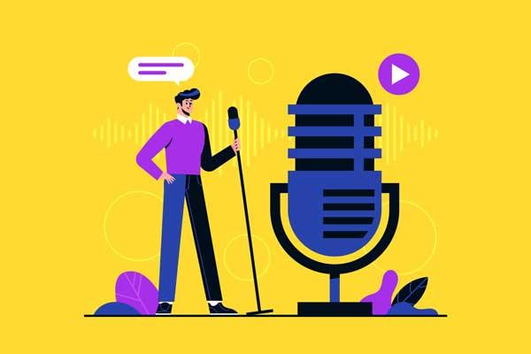 تولید محتوای صوتی به روش آلن دلون