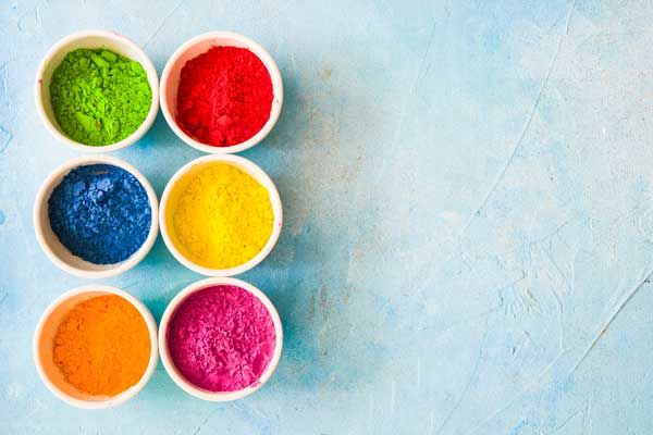 تاثیر رنگ ها در محتوا نویسی